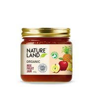 Natureland Organics Mix Fruit Jam 250 Gm - sai-organics-pte-ltd