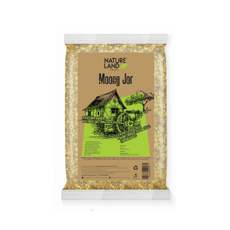 Natureland Organics Moong Jor (Flakes) 150 Gm - sai-organics-pte-ltd