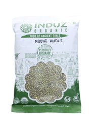 Induz Organics Moong Whole 500 Gm