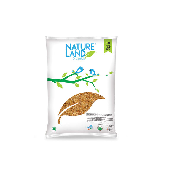 Natureland Organics Maize Dalia 500 Gm - sai-organics-pte-ltd