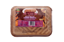 Mijoss Multi Millet Jaggery Biscuits 110 Gm