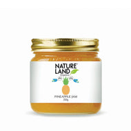 Natureland Organics Pineapple Jam 250 Gm - sai-organics-pte-ltd