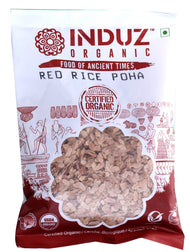 Induz Organics Red Rice Poha 250 Gm