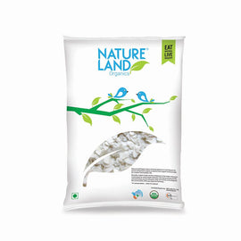 Natureland Organics Rice Poha 500 Gm - sai-organics-pte-ltd