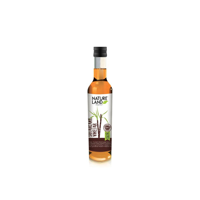 Natureland Organics Sugarcane Vinegar 200 Ml - sai-organics-pte-ltd