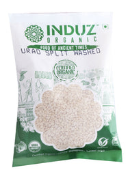 Induz Organics Urad Split Washed 500 Gm