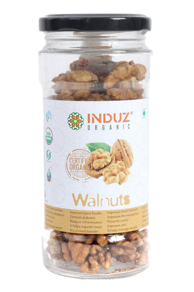 Induz Organics Walnut 125 Gm