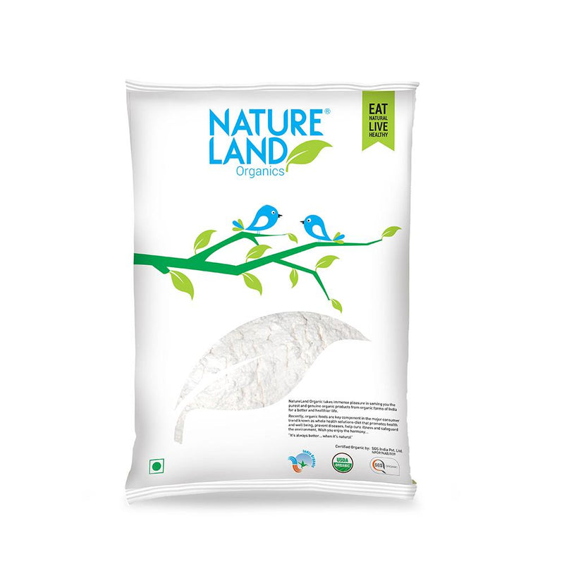 Natureland Organics Wheat Maida 500 Gm - sai-organics-pte-ltd