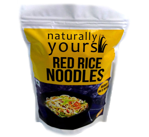 Naturally Yours Red Rice Noodles 180g