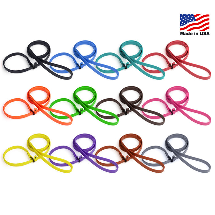 Dogline Biothane Waterproof Dog Collar with Quick Release Buckle