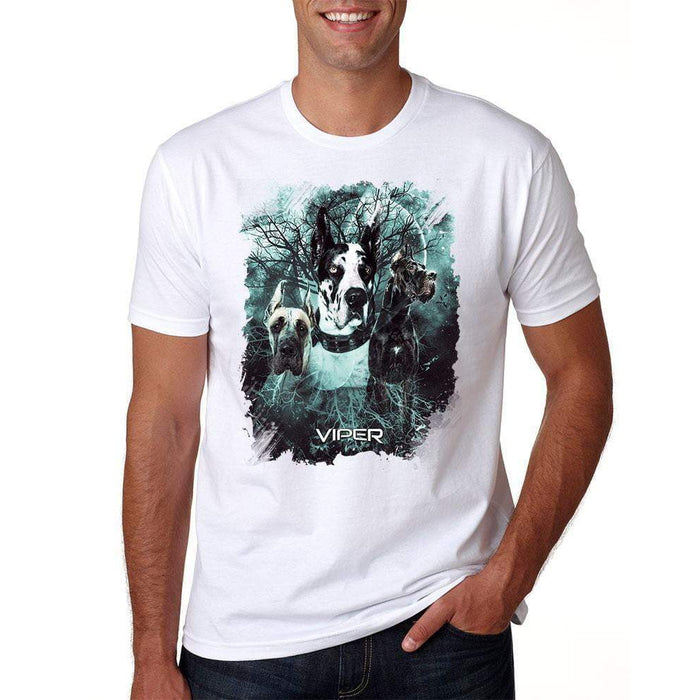 Viper - Great Dane Cropped - Starlight Series - Shirt - Design 33
