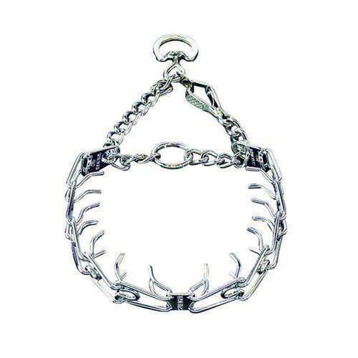Herm Sprenger - ULTRA-PLUS Training Collar with Center-Plate and Assembly Chain - Comfort-Plus Version - Chrome
