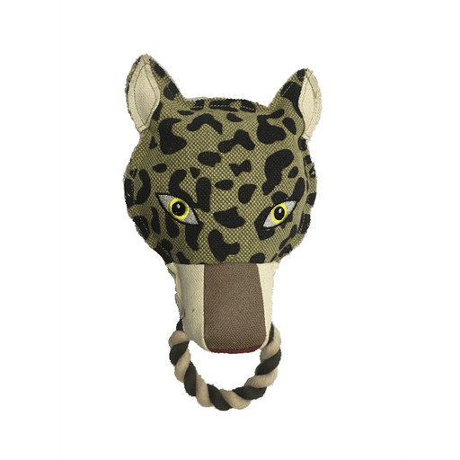 "10"" Nature Leopard Animal Squeaky Toy"