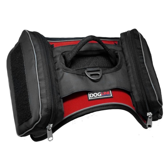 Quest Removable Utility Saddlebags + Built-In Waste Bag Dispenser