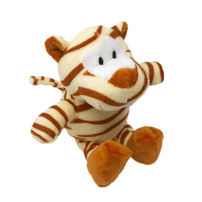 "7"" Tiger Mini Dog Toy"