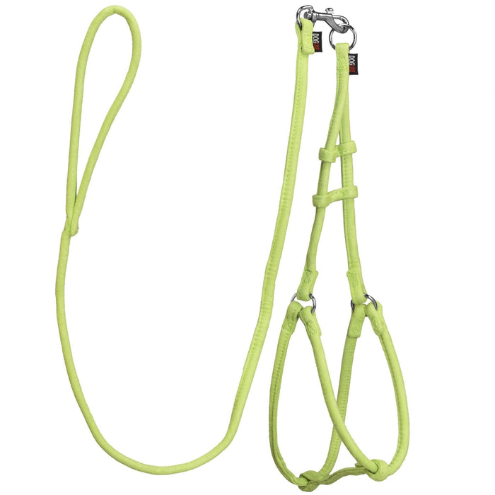 Comfort Microfiber Round Step-In Harness + Lead