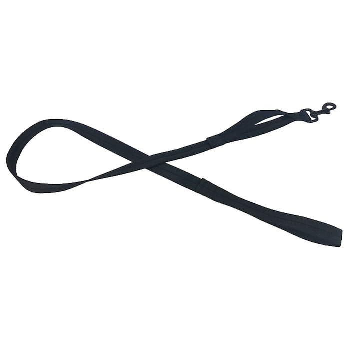 Nylon Flat Leash + Built-in Traffic Handle