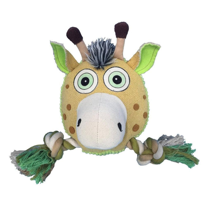 "8"" Safari Deer Animal Toy with Ropes"