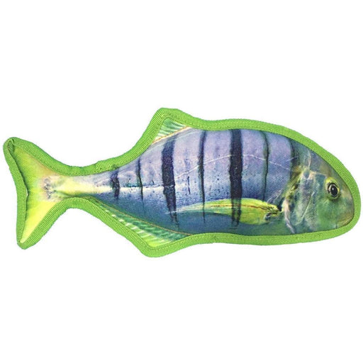 "12"" Tropical Sergeant Major Dog Fish Toy"