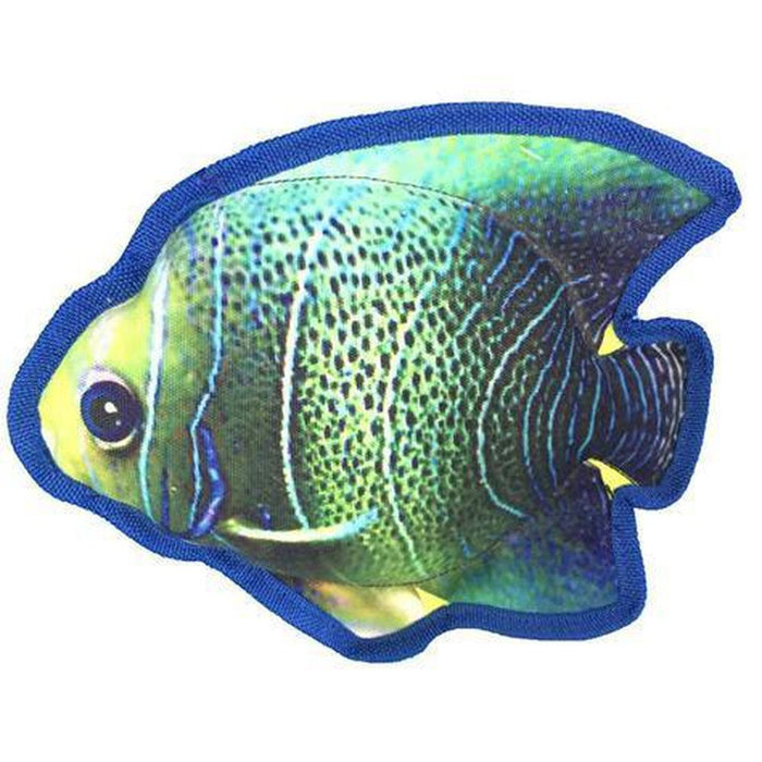 "9"" Tropical Angelfish Dog Fish Toy"