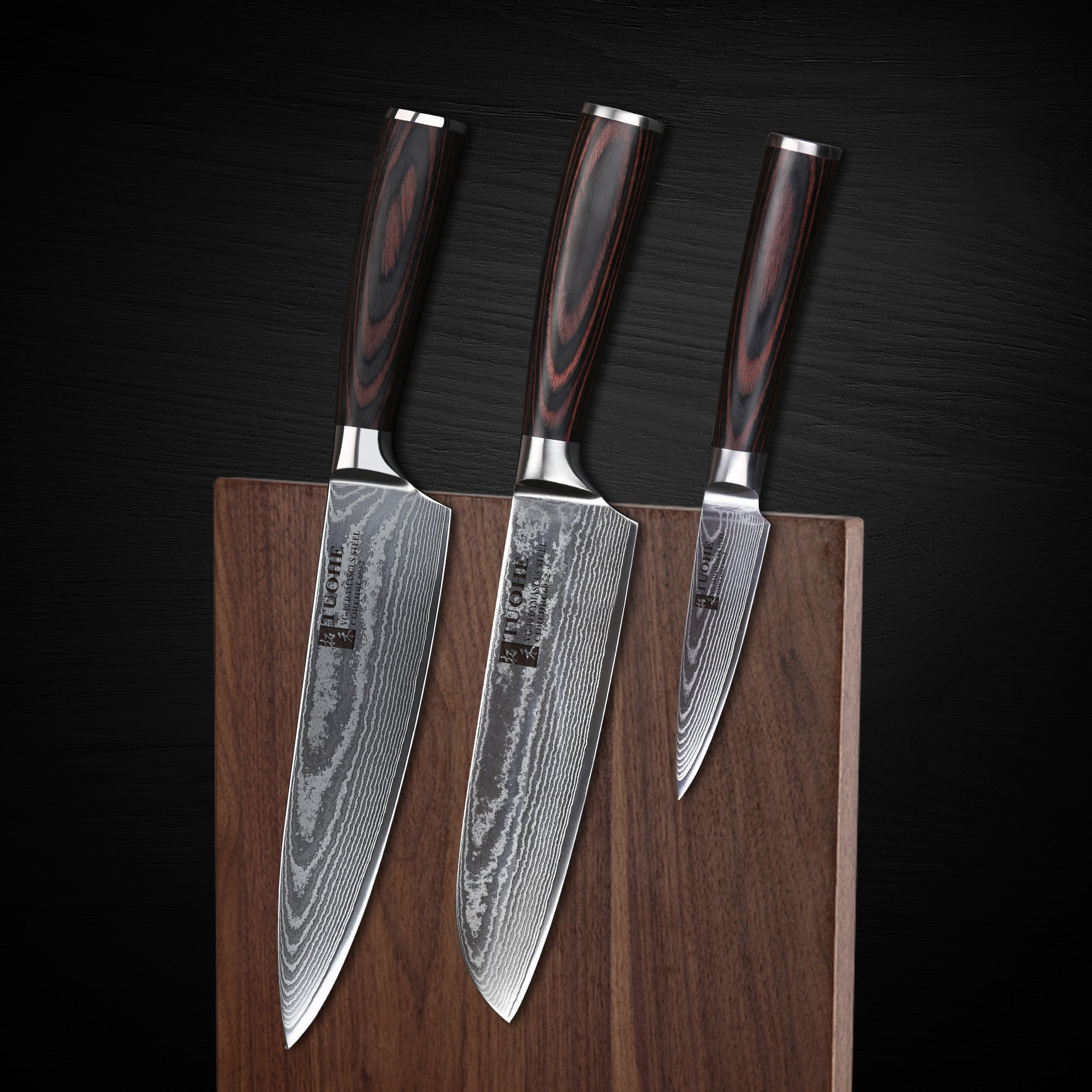 Recommended The Best VG10 Damascus Kitchen Knife Set