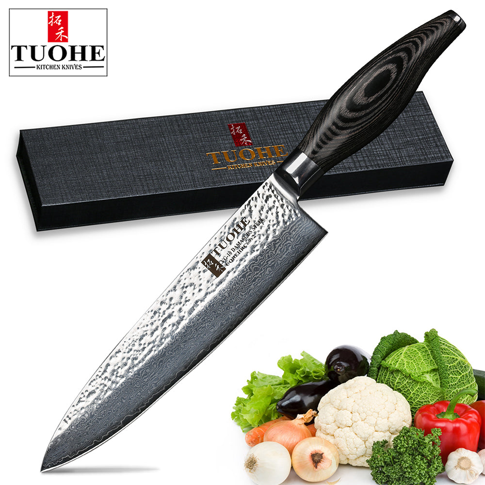 steel handle katana knife sushi excellent recommended vg pakka inch s japanese style good model kitchen damascus wood traditional chef numbertuohe products