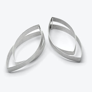 RIBBON EARRINGS - NAVETTE