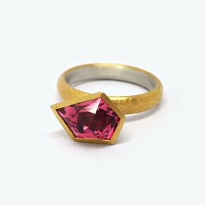 ASSYMETRIC TOURMALINE RING
