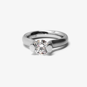 "HEAVEN ""S"" PLATINUM + 1.00CT"