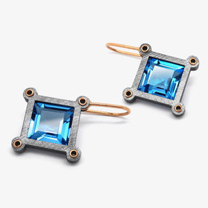XL TOPAZ URSA MAJOR EARRINGS