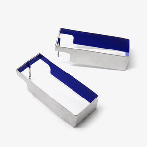 BAND EARRINGS - RECTANGLE