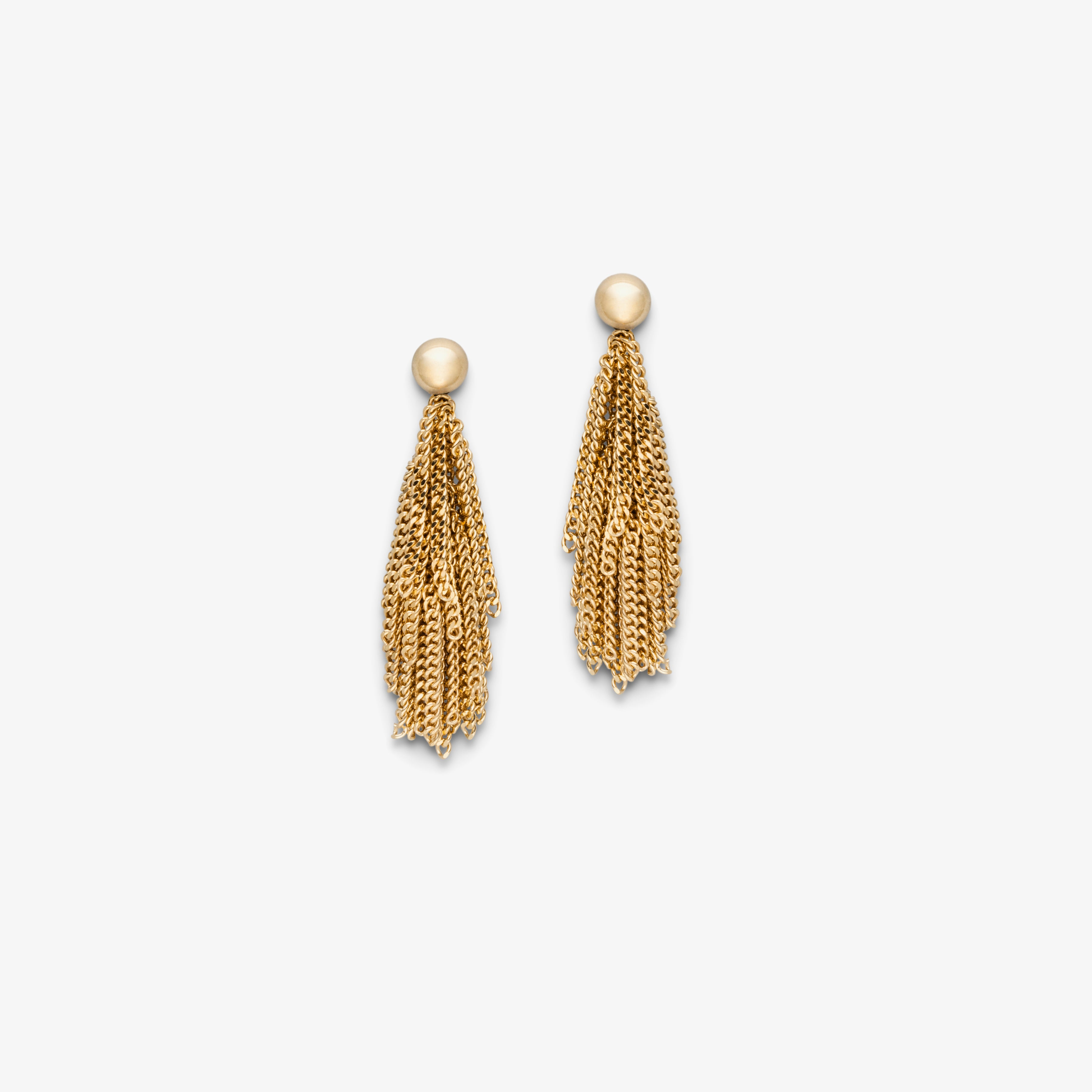 SHORT SIARA EARRINGS - GOLD PLATED