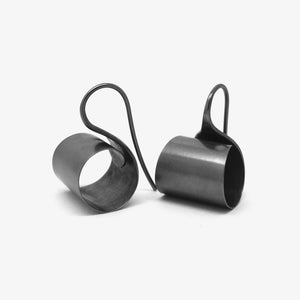 OLOR EARRINGS - BLACK