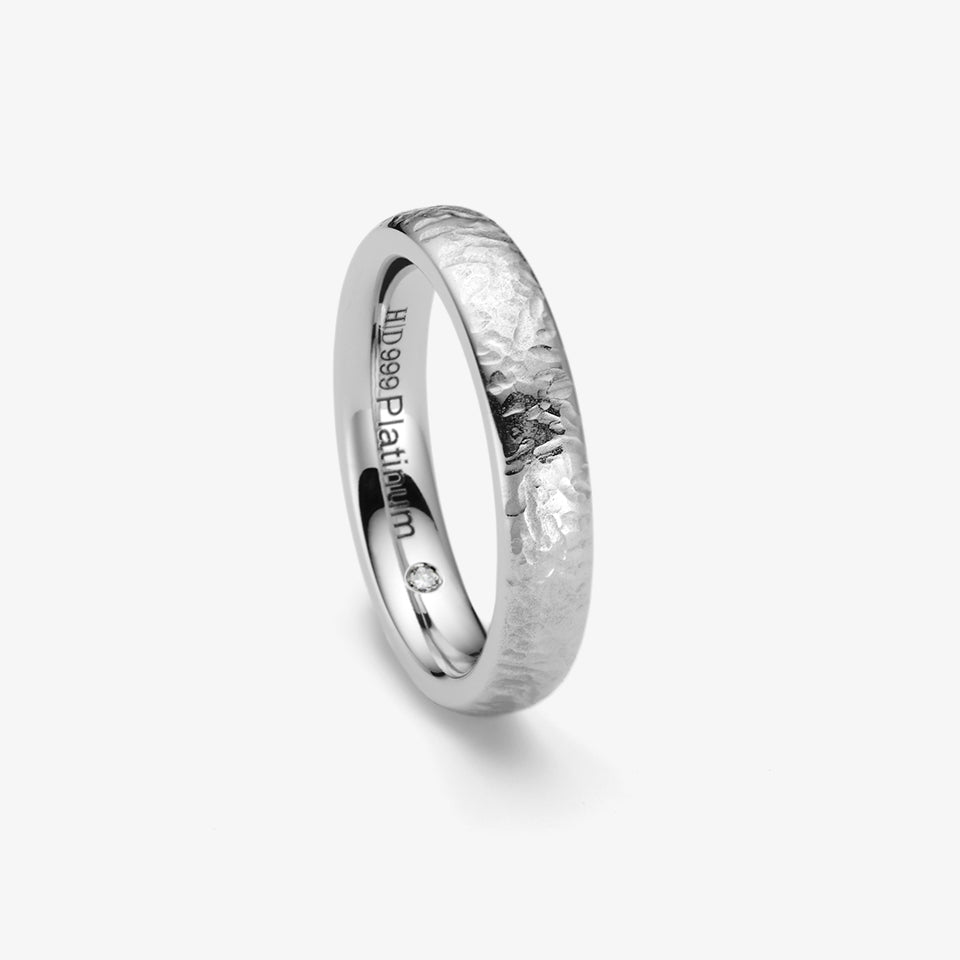 PUREST WEDDING RING - PT 4MM