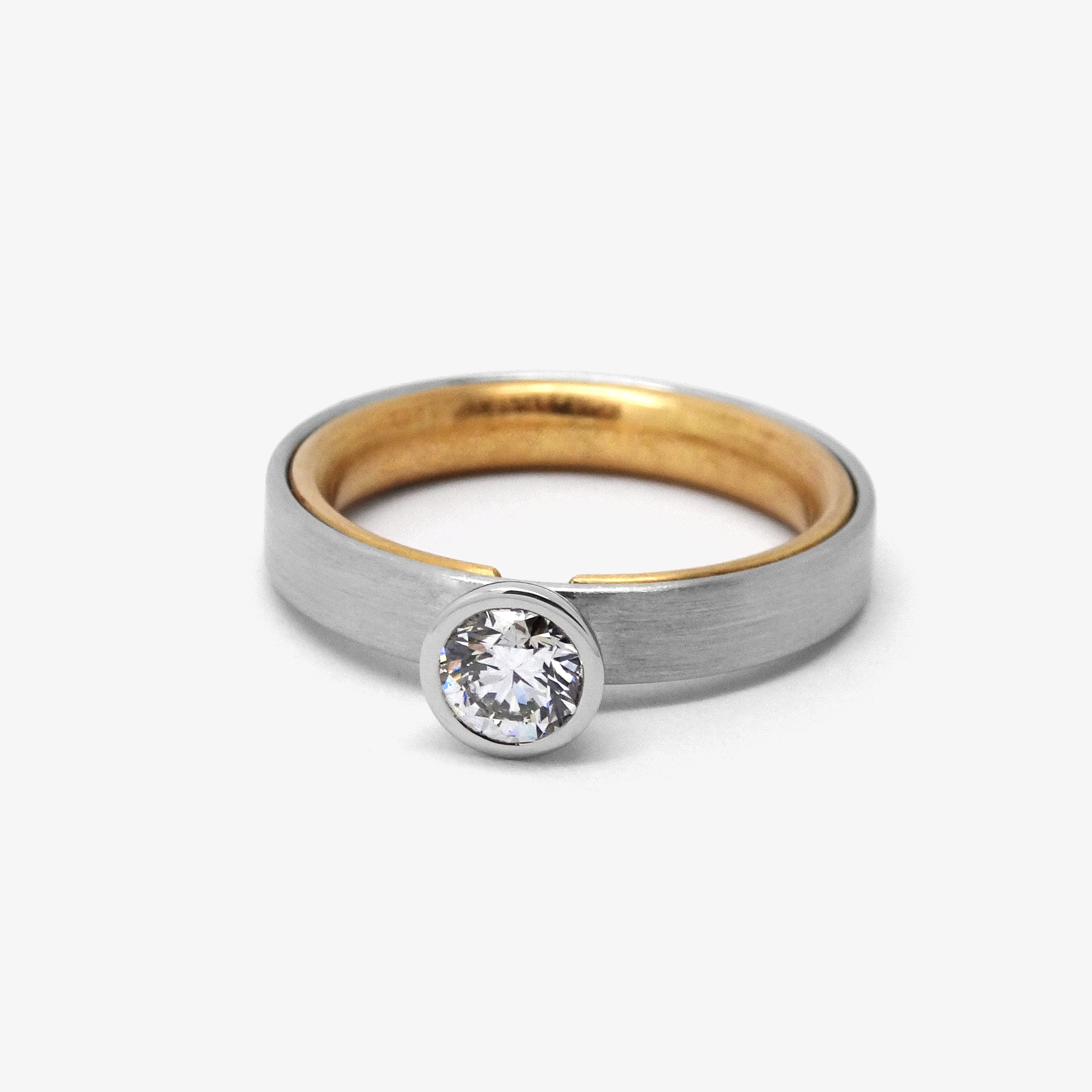 ROSE BRILLIANT ENGAGEMENT RING