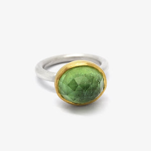 OVAL TOURMALINE RING
