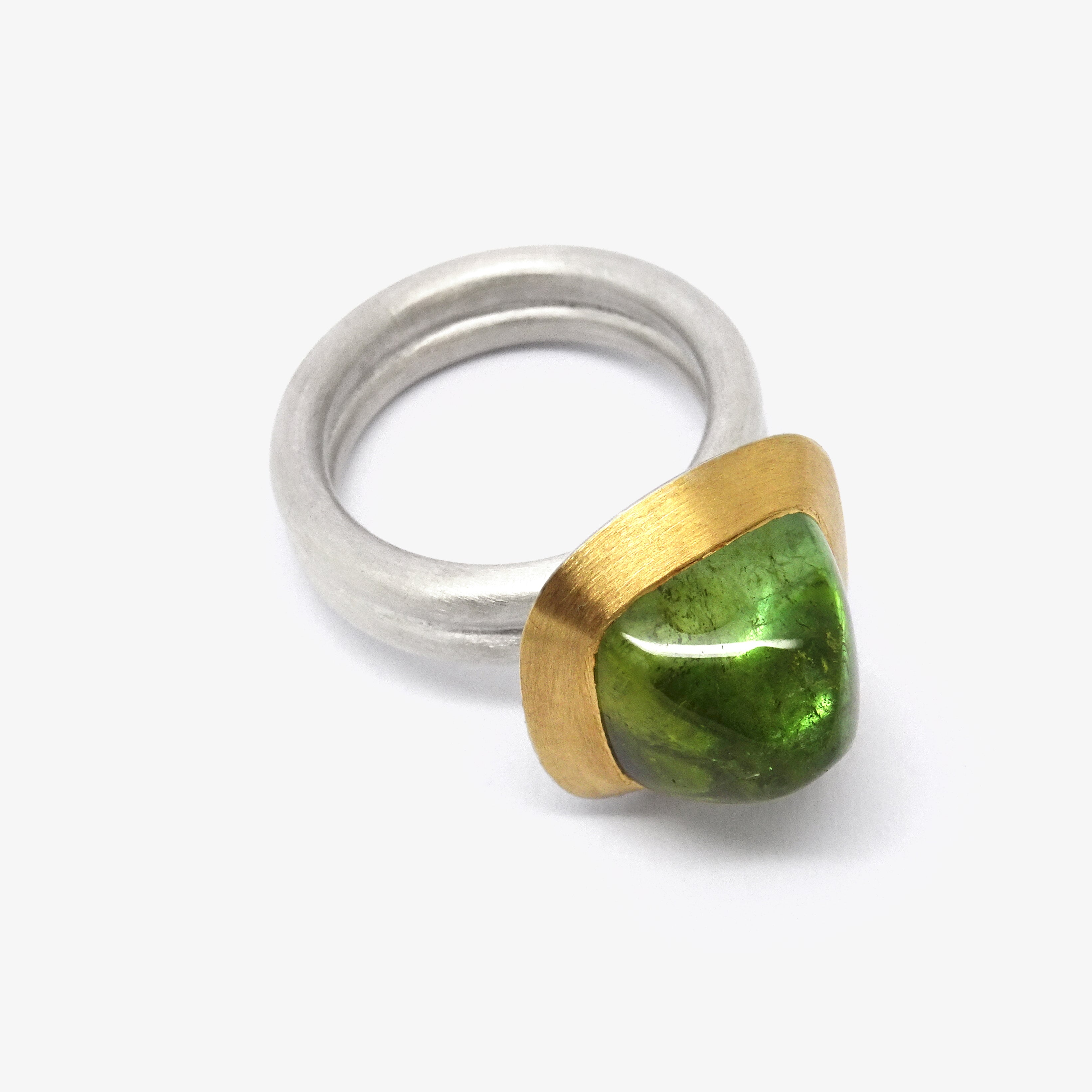 SUGARLOAF TOURMALINE RING