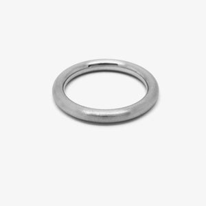 ROUND WEDDING RING - 2.5Ø PLATINUM