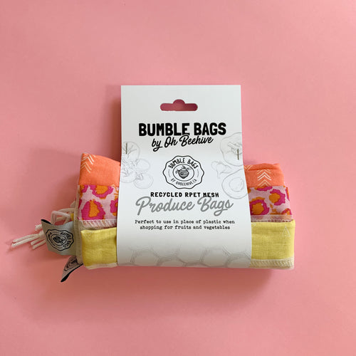 Mesh Bumble Bag | Various Colours | Set of 3