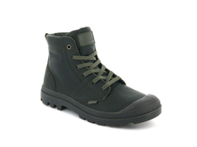 Palladium - Pallabrousse Leather - Olive Night Dark Gum - Lardieri Store