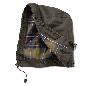Barbour - Classic Sylkoil Hood - Olive - Lardieri Store
