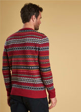 Barbour - Case Fairisle Crew - Rich Red - Lardieri Store