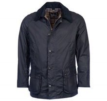 Barbour - Ashby Wax Jacket - Navy - Lardieri Store