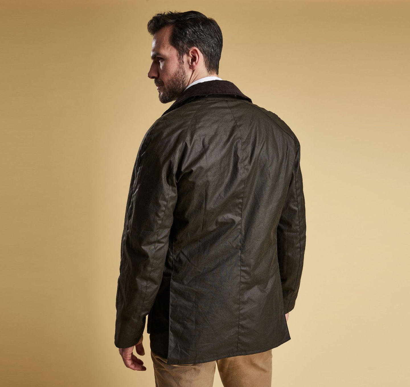 Barbour - Ashby Wax Jacket - Olive - Lardieri Store