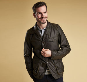 Barbour - Beacon Sport Jacket - Olive - Lardieri Store