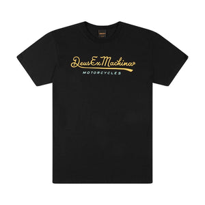 Deus Ex Machina - 2nd Base Tee - Black