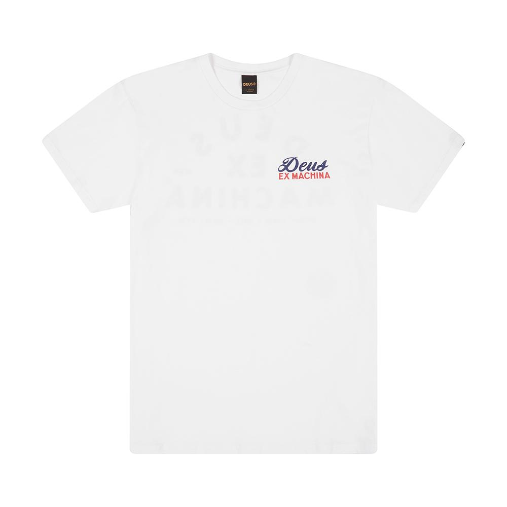 Deus Ex Machina - Whirled Tee - White