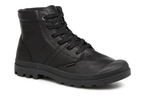 Palladium - Pallabrousse Leather - Black - Lardieri Store