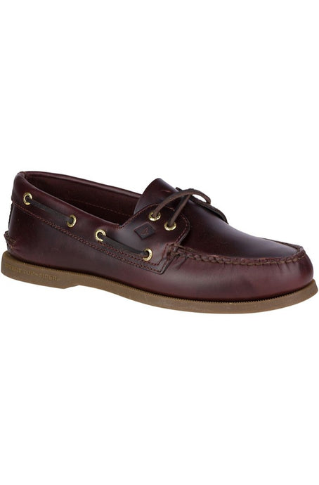 Sperry Top Sider - A/O 2 Eye Leather - Amaretto - Lardieri Store