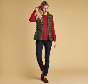 Barbour - Baffle Betty Liner - Olive - Lardieri Store